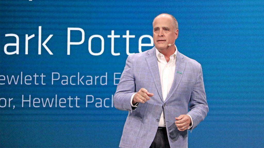 Justin Hotard, vicepresidente senior y gerente general de la Unidad de Negocios Globales de Volumen de HPE.