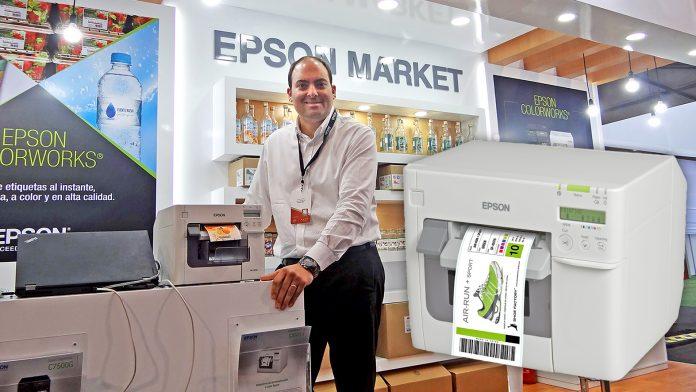 Alvaro Florez, gerente de Canales de Formato Ancho Epson.