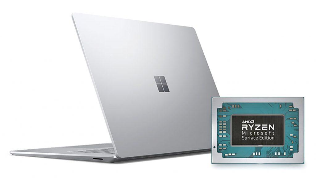 Microsoft Surface Laptop 3 AMD Ryzen Mobile Canal Ti