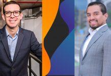 Alex Morris, Country Sales Director de Xertica Perú; Alan Berrospi, Service Deliv